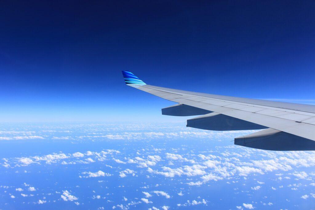 Flugzeug im Himmer